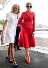 Мода фиаско: Мелания Трамп не входит в список самых стильных, и Бриджит Macron — да
