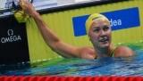 Шестрем обновила мировой рекорд в заплыве на 50 метров вольным стилем